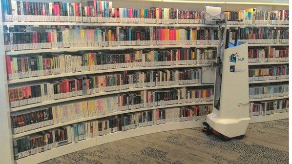کتابدارهای نسل جدید با دقت و هوش بالا از راه رسیدند