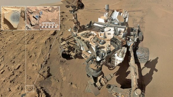 کشف اکسیدمنگنز،فرضیه وجود اکسیژن در مریخ را تقویت کرد
