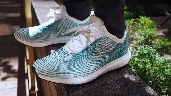 گالری عکس: کفشهای آدیداس با پلاستیکهای بازیافتی اقیانوسها