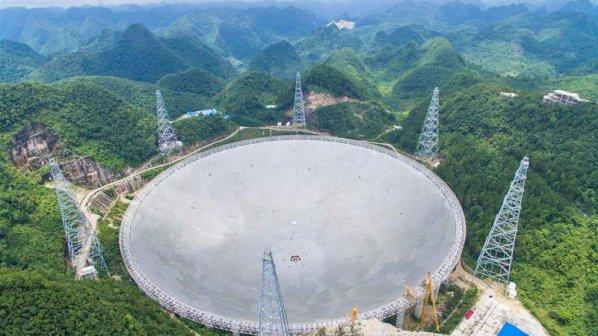 چین بزرگترین تلسکوپ تک دیافراگم جهان را ساخت!
