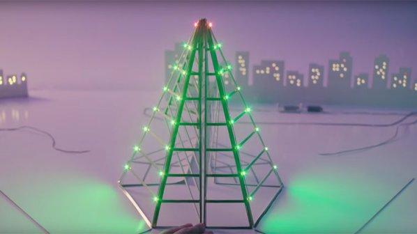 تماشا کنید: قلمی که با جوهر چراغهای یک شهر را روشن میکند