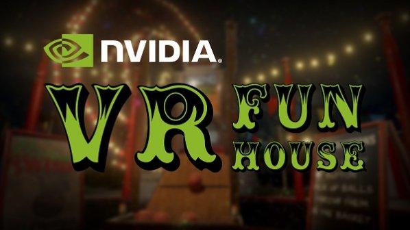 انویدیا مجموعه بازیهای کوچک واقعیت مجازی VR FunHouse را عرضه کرد