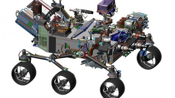 رونمایی از مریخنوردی که سال ۲۰۲۰ به فضا پرتاب میشود