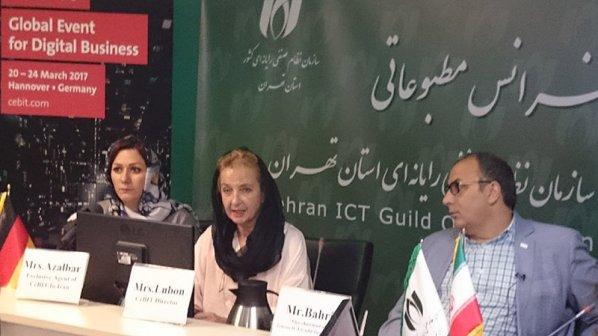 حضور پاویون شرکتهای فناوری اطلاعات و ارتباطات ایرانی در نمایشگاه سبیت 2017