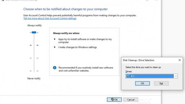 ابزار پاکسازی Disk Cleanup امنیت ویندوز ۱۰ را به خطر میاندازد