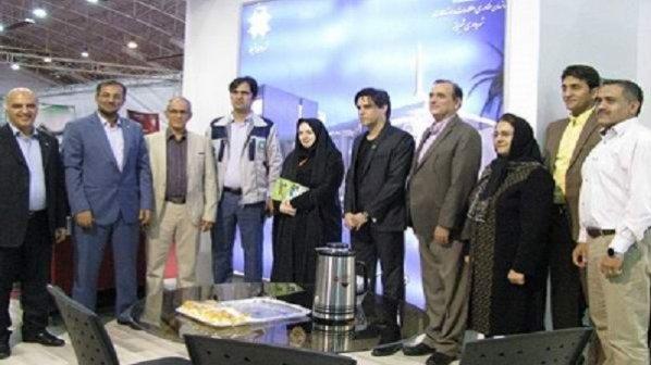 پانزدهمین نمایشگاه الکامپ فارس افتتاح شد