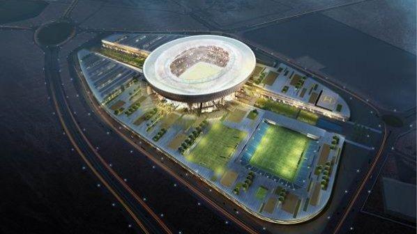 گالری عکس: بزرگترین استادیوم ورزشی امارات با سیستم خنککننده طبیعی