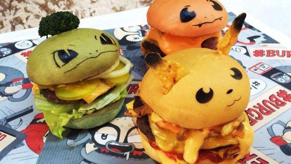 معدهتان را برای خوردن پکمونبرگر آماده کنید!