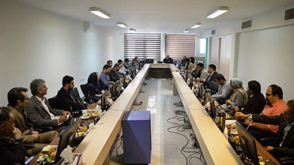 نشست کمیسیون افتا سازمان نصر با تولیدکنندگان محصولات بومی امنیت فناوری اطلاعات