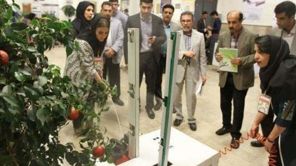رونمایی از رباتهای ماهی، نهالکار، کشنده ادوات باغی و سمپاش در ایران