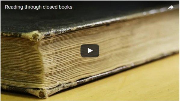 کتابخوانی را بدون باز کردن کتاب تجربه کنید!