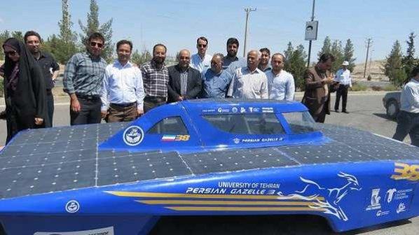 خودروی خورشیدی «غزال ایرانی 4» وارد ناوگان شهری میشود