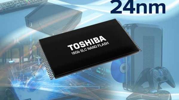 تراشه 16 گیگابایتی SLC پرسرعت توسط توشیبا معرفی شد