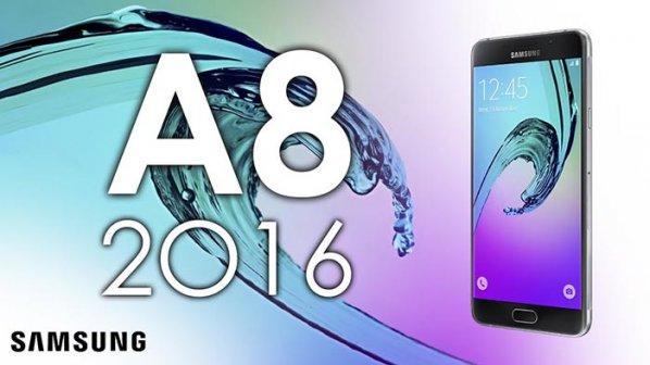 نسخه 2016 گوشی گلکسی A8