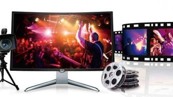 با نمایشگر منحنی EX3200R بنکیو، سینما را در خانه تجربه کنید