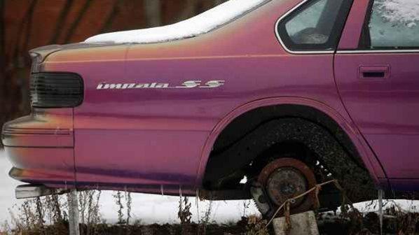 گالری عکس: خودروهای رها شده در پایتخت خودروسازی امریکا را ببینید