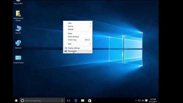 چگونه آیکونهای مورد نظر خود را به ویندوز 10 اضافه کنیم