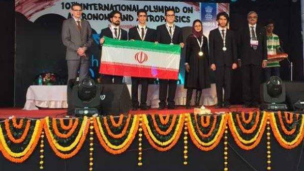 تیم المپیاد نجوم ایران سوم جهان شد