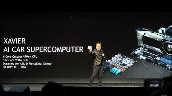 ابرکامپیوتر Xavier انودیا رانندگی ماشینها را بر عهده میگیرد