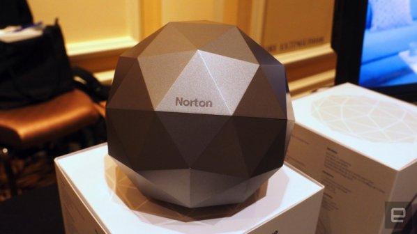 روتر گنبدی شکل نورتن از شبکه شما محافظت میکند