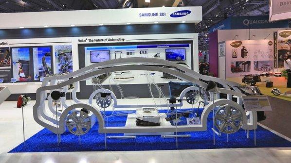سامسونگ برای خودروهای الکتریکی باتری شگفتانگیزی معرفی کرد