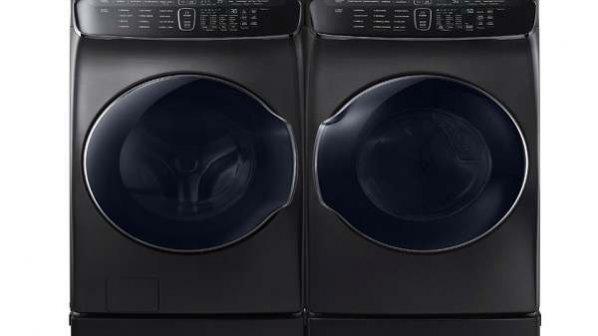 ماشین لباسشویی دوقلو، چهارکاره و هوشمند سامسونگ معرفی شد