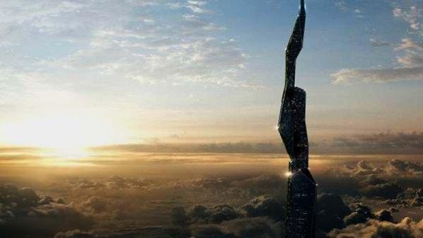 ساخت آسمانخراشی به ارتفاع 5 کیلومتر!