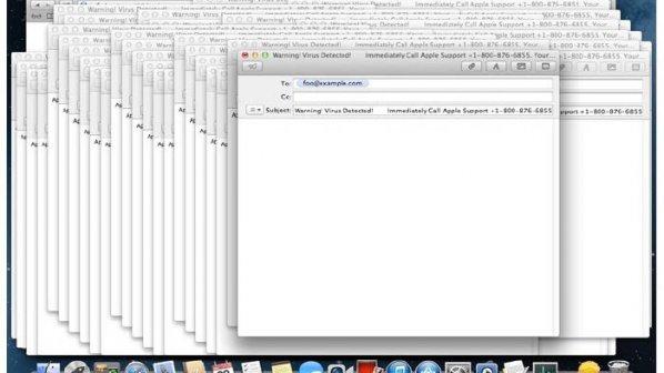 از کار افتادن سیستمعامل مک با بدافزار ایمیلی