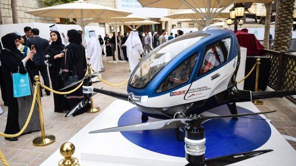 دِرونهای مسافربر از سال آینده بر فراز دوبی پرواز میکنند