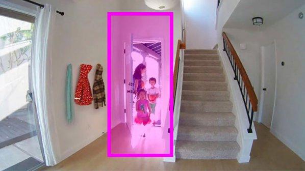 دوربینی که مراقب دربهای منازل است