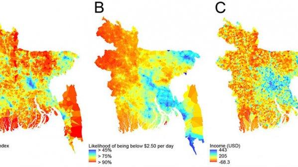 فقیرسنجی با موبایل و تصاویر ماهوارهای