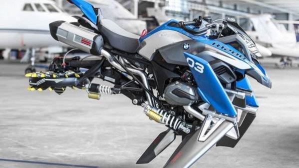 گالری عکس: موتورسیکلت پرنده BMW را ببینید