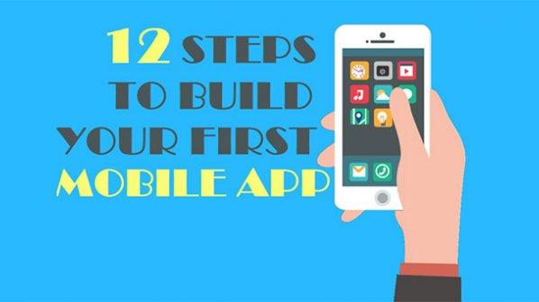فقط با 12 حرکت اولین اپلیکیشن موبایلی خود را بسازید!