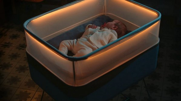 تماشا کنید: تختخواب کودک فورد با الهامگیری از حرکت خودرو برای خواب راحت
