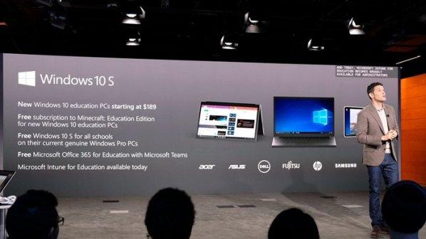 ویندوز 10 اس و لپتاپهای جدید مبتنی بر آن معرفی شدند