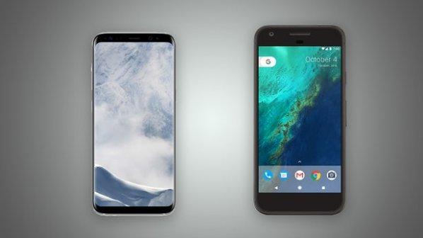 مقایسه تصویری گوگل پیکسل ایکس ال و گلکسی اس 8
