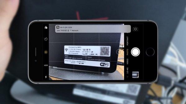 با اسکن کد QR روتر در iOS 11 خیلی سریع به شبکه وصل شوید