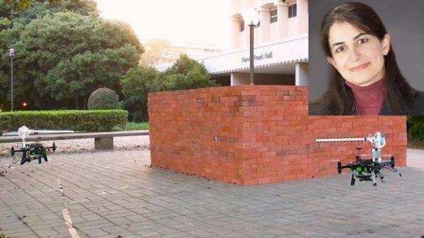 با رهبری پروفسور زن ایرانی: تصویربرداری سهبعدی از اجسام پشت دیوار با پهپاد و وایفای