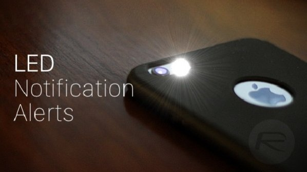 استفاده از چراغ فلش دوربین برای نمایش اعلان در آیفون