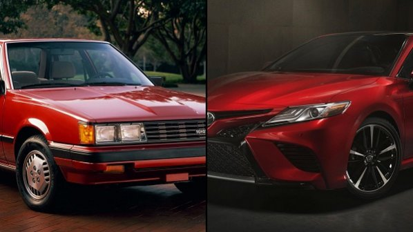 مقایسه نسل اول و آخر خودروی محبوب ژاپنی؛ تویوتا کمری