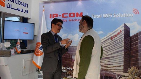 تماشا کنید: گفتوگو با مدیر اجرایی شرکت وردسان در نمایشگاه 2017 ISE
