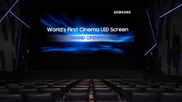 سامسونگ از نخستین سینما الایدی دنیا رونمایی کرد