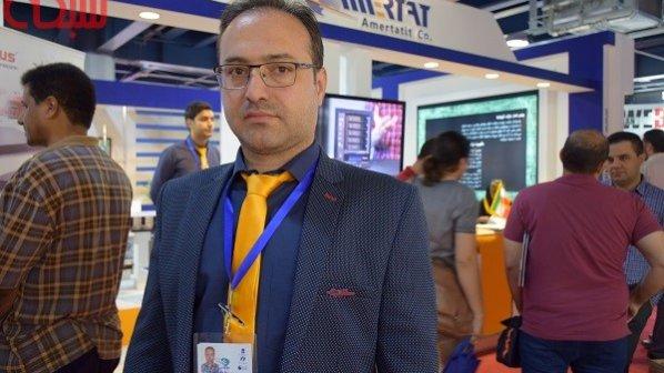 تماشا کنید: گفتوگو با مدیر فروش شرکت آمرتات ایرانیان در نمایشگاه الکامپ