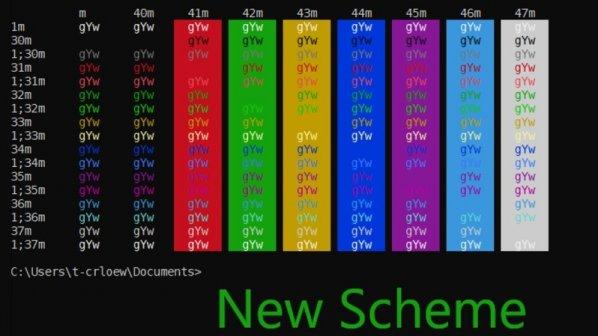 پس از گذشت 20 سال رنگ CMD در ویندوز 10 تغییر پیدا کرد