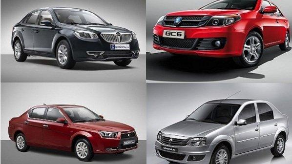 محبوبترین خودروهای سواری زیر 50 میلیون تومان بازار ایران + مقایسه