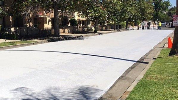 لسآنجلس با استفاده از رنگ خنک به جنگ گرمای هوا میرود