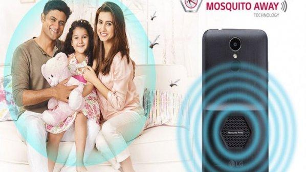 گوشی جدید الجی با قابلیت دفع حشرات (پشه) معرفی شد