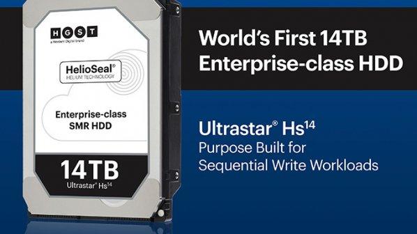 وسترن دیجیتال هارد 14 ترابایتی وارد بازار میکند