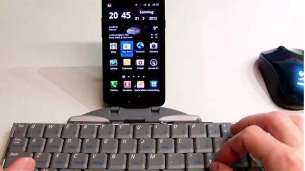 چگونه صفحهکلید کامپیوتر را به گوشی اندرویدی متصل کنیم؟