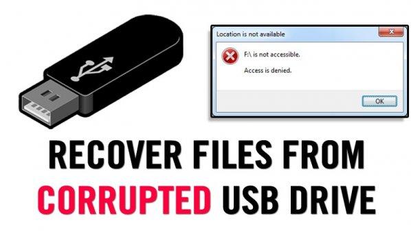 چگونه میتوانیم فایلها را از یک فلش خراب بازیابی کنیم؟